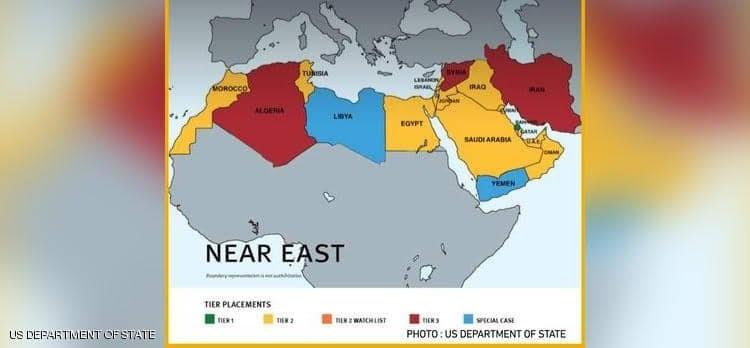 الخارجية الامريكية تنشر خريطة المغرب من طنجة الى لكويرة