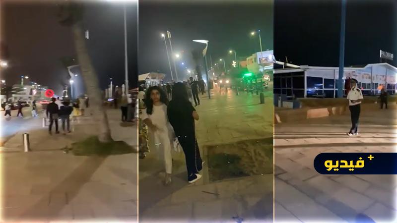شاهدوا.. قوات الأمن بالسعيدية يسهرون على تطبيق حظر التجول الليلي