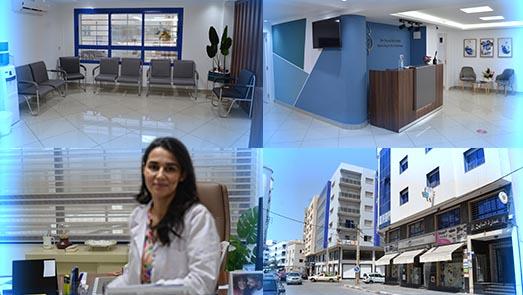 الدكتورة منال كلابيلي اختصاصية في أمرض النساء والتوليد تفتتح عيادتها الخاصة بالناظور