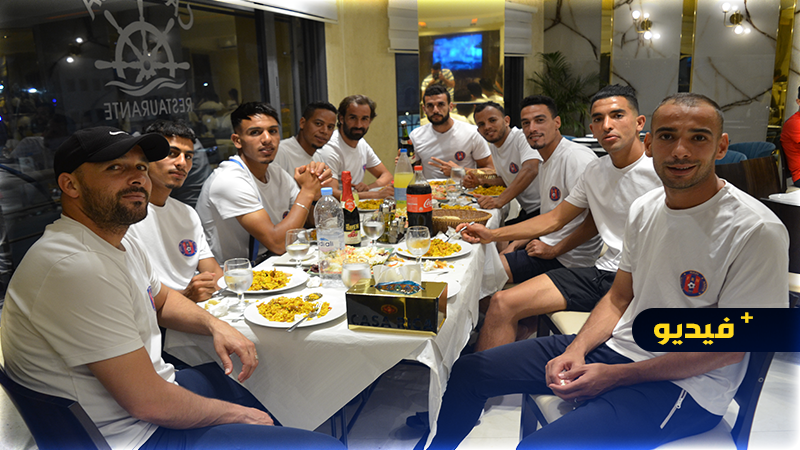 """في بادرة غير مسبوقة.. مطعم """"كاسا ريكا"""" يقيم وجبة عشاء فاخرة على شرف مكونات فريق الفتح الناظوري"""