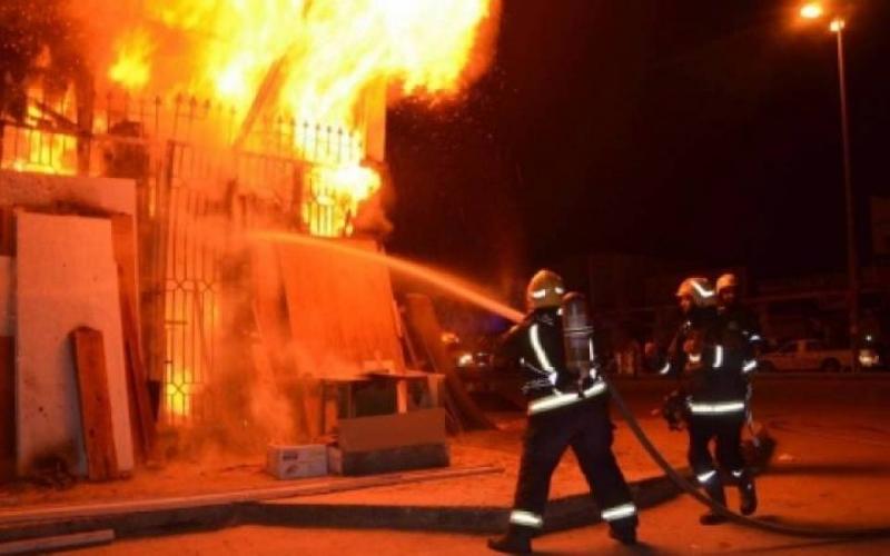 حريق خطير داخل منزل يفحم عائلة مكونة من 12 فردا