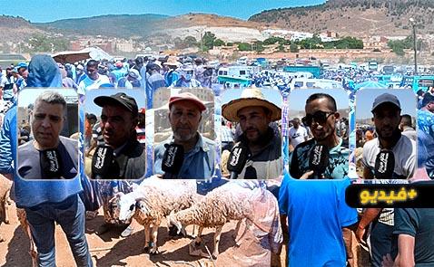 قبيل العيد.. مواطنون بسوق أزغنغان يشتكون غلاء أسعار الأضاحي والتجار يؤكدون استقرارها