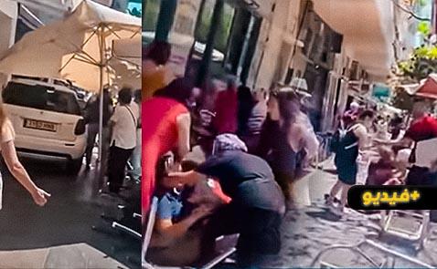 """شاهدوا.. إصابة العشرات في حادث دهس بمدينة """"ماربلا"""" الإسبانية"""