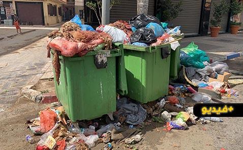 أزبال العيد تساءل المواطنين ومجموعة الجماعات ودورهم في الحفاظ على نظافة المدينة