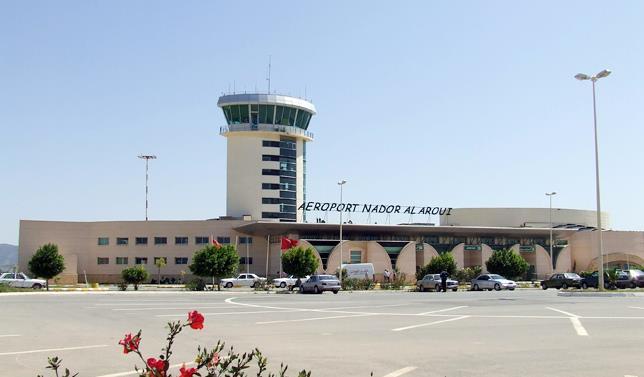 مطار الناضور : انخفاض بنسبة 11.31 في المائة في حركة النقل الجوي مع متم يونيو