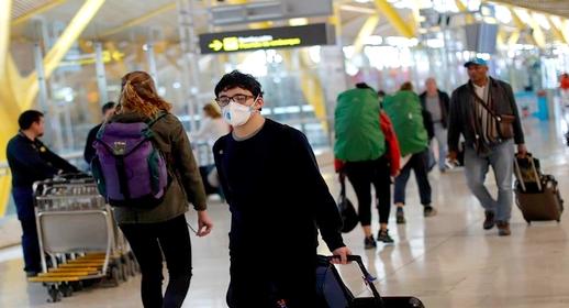 إسبانيا تفرض حجرا على الوافدين من هذه الدول بسبب ارتفاع الإصابات بفيروس كورونا