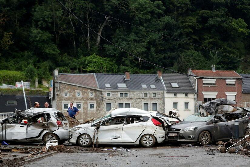 للمرة الثانية في أسبوع.. الفيضانات المدمرة تجتاح بلجيكا
