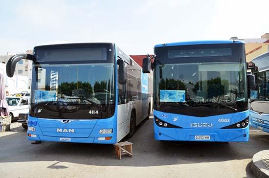 مواطنون يطالبون بتمديد توقيت عمل حافلات النقل الحضري لوقف فوضى سيارات الأجرة بالناظور