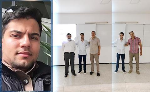 ابن الناظور الطالب أحمد مجاهد ينال شهادة الماجستير المهنية بطنجة و يصنف الأول ضمن فوجه