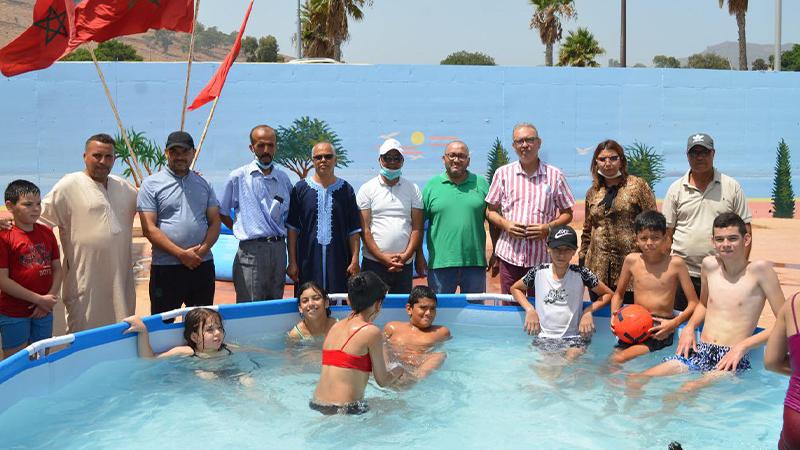 المؤسسة الخيرية بالناظور تستضيف أسرة جمعية أيمن للتوحد في مبادرة إنسانية وإجتماعية