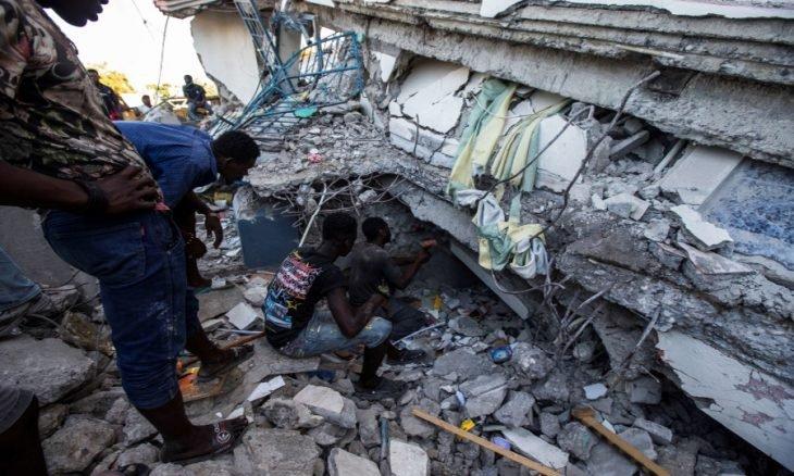 زلزال هايتي المدمر يرفع حصيلة القتلى إلى أزيد من 720
