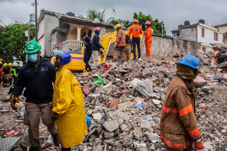 ارتفاع حصيلة ضحايا زلزال هايتي إلى 2189 قتل و12 ألف جريح