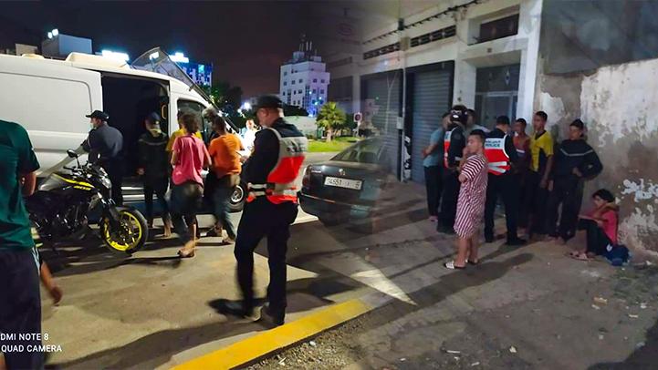 خطير.. مجموعة من الحراكة يحاولون اغتصاب فتاة بالشارع العام ومواطنون يتدخلون