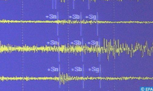 تسجيل هزة أرضية بقوة 5,5 درجات بإقليم الدريوش