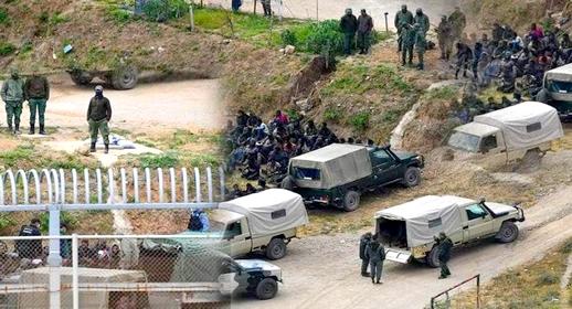 بعد مليلية المحتلة.. إحباط محاولة نحو 100 مهاجر إفريقي اقتحام سياج سبتة