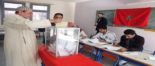 مراقبون يطالبون بتدخل السلطات لوقف مهازل السماسرة أمام مكاتب التصويت بالناظور
