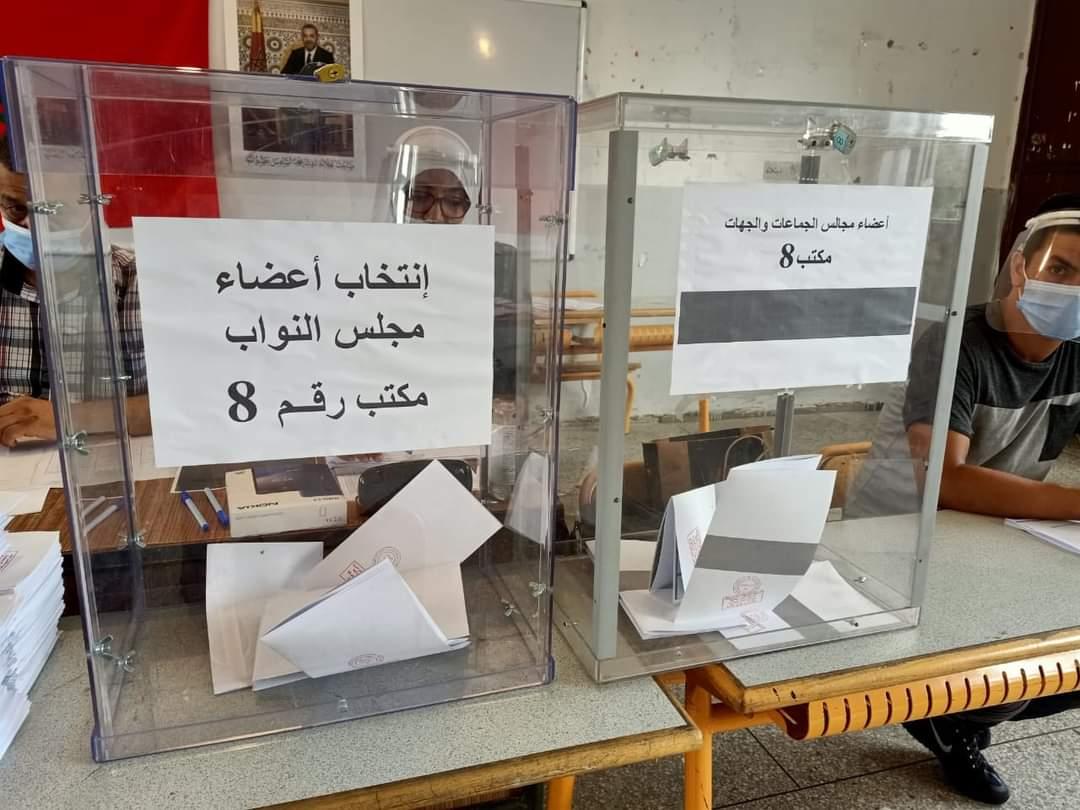 استمرار الخروقات الانتخابية أمام عدد من مكاتب التصويت بالناظور