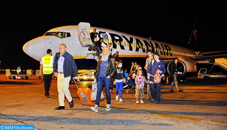 """شركة """"ريان إير"""" تطلق ثلاث رحلات جديدة بين المغرب وإسبانيا"""