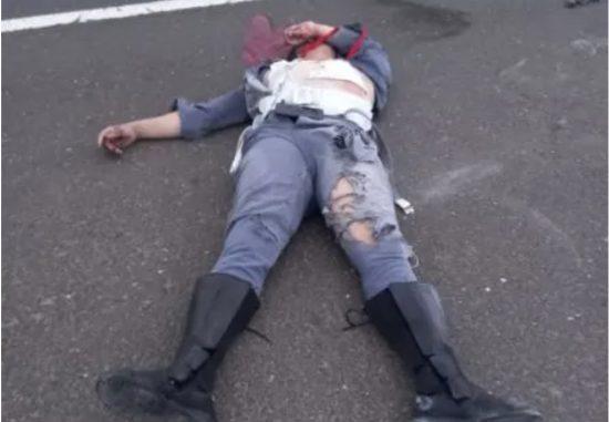 """سيارة """"مرسيديس"""" تدهس دركيا وترديه قتيلا في طريق السيار بجرسيف وتفر إلى وجهة مجهولة"""