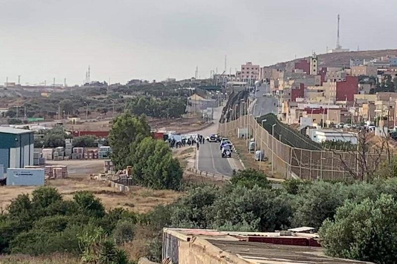 إحباط محاولة عبور 9 مهاجرين إلى مليلية المحتلة