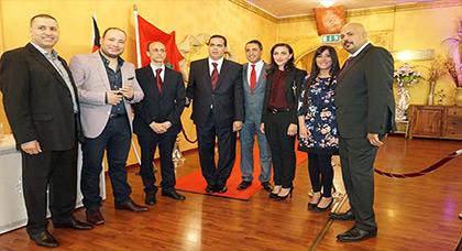 القنصلية العامة للمملكة المغربية بفرانكفورت تحتفل بذكرى عيد العرش المجيد