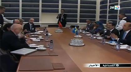 البرلماني مختار غامبو ضمن وفد يزور السويد