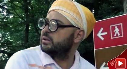 شاهدوا الفيديو.. ماسين في فيلم كوميدي قصير بعنوان الحاج مصطفى