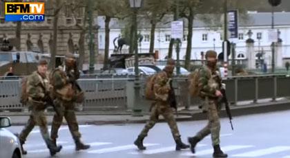 بلجيكا تعلن البقاء على المستوى الثالث لحالة التأهب و الجالية المسلمة قلقلة من الوضع الأمني