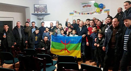 إحتفال بهيج برأس السنة الأمازيغية 2966 بمدينة فوبرتال الألمانية