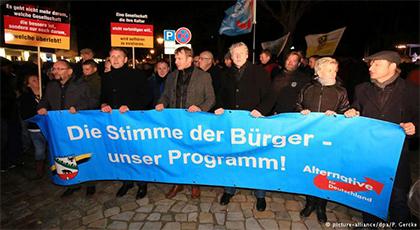 ألمانيا: إصابات ومواجهات في مظاهرة مناوئة لحزب البديل المعادي للأجانب