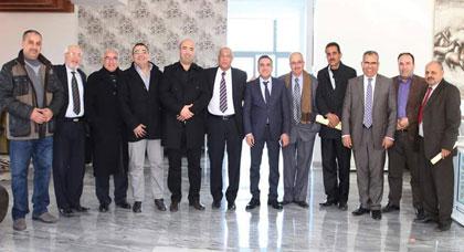 هؤلاء أعضاء جمعية رؤساء مجالس العمالات و الأقاليم بالجهة الشرقية