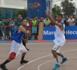عشاق كرة السلة يتابعون باهتمام  مباريات الدوري الثلاثي المقام بكورنيش بحيرة مارتشيكا