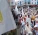 مسيرة حاشدة لأنصار سعيد الرحموني وسط مدينة الناظور
