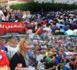 بحضور نوال بنعيسى وخالة الزفزافي.. نشطاء العروي يخرجون للمطالبة بسراح المعتقلين