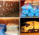 جمارك زايو تحجز كمية مهمة من المواد الغذائية المهربة على متن شاحنة للنقل الدولي