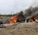 سلطات بني أنصار تحرق خياما بلاستيكية ينصبها الحراكة والمتشردون للإيواء في انتظار الحريك