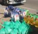 الجمعية الحسنية لتجار و مصدري المنتوجات البحرية بميناء بني نصار توزع 60 قفة غذائية على الأسر المعوزة