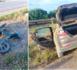 بالصور.. مصرع سائق دراجة نارية وجرح مرافقه في حادثة سير خطيرة بأركمان