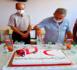 الهلال الأحمر يكرم قائد الوقاية المدنية بالناظور