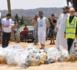 """بالصور.. الرحمة تستمر في حملة """"عطاء"""" وتواصل قفف رمضان للمعوزين بجميع مناطق الريف والشرق وهذه هي تكلفتها"""