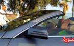 صورة معبرة.. الملك محمد السادس يتوقف بممر الراجلين لمرور مواطنين