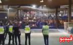 عنصرية الشرطة الاسبانية بمعبر بني نصار