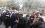إحتجاجات أمام سفارة المغرب ببلجيكا للتنديد بتعنيف مسن أمام أنظار الوزير المكلف بالجالية