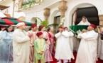 الملك يحضر حفل زفاف إبنة الجنرال الريفي المنصوري من شقيق الحاجب الملكي