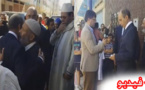 محمد حصاد وزير الداخلية رفقة الشرقي أضريس يحلون صباح اليوم في منزل محسن فكري