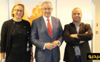 حوليش يقنع الهولنديين بدعم مركز السرطان وإحداث مدرسة لخدمات الموانئ