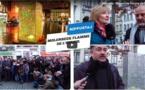 """ربورتاج حول إيقاد فنان مغربي لـ""""شعلته"""" الفنية وسط """"مولمبيك"""" ببلجيكا للتعبير عن نبذ الإرهاب"""