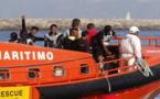 السلطات الإسبانية تنقذ 16 شابا مغربيا من موت محقق