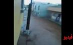 سيول مياه جارفة تُدخل الساكنة في عزلة نواحي فرخانة