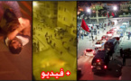 قوات الأمن تتدخل بالقوة لفض إعتصام نشطاء الحراك الشعبي بمدينة الحسيمة